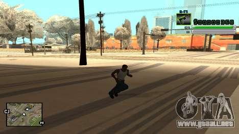 C-HUD v5.0 para GTA San Andreas quinta pantalla