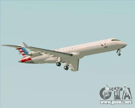 Bombardier CRJ700 American Eagle Airlines para la visión correcta GTA San Andreas