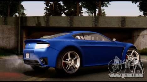 GTA 5 Dewbauchee Rapid GT Coupe [HQLM] para GTA San Andreas left