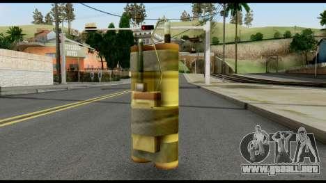 TNT from Metal Gear Solid para GTA San Andreas