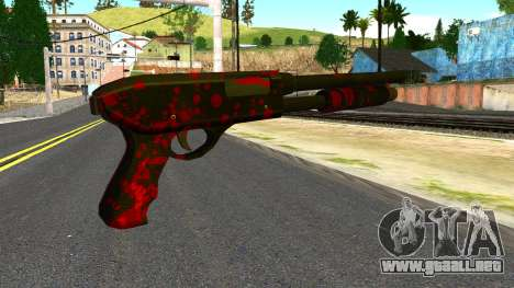 Shotgun with Blood para GTA San Andreas segunda pantalla