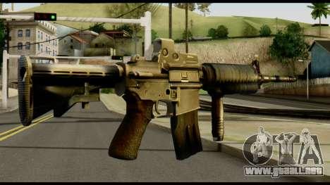 SOPMOD from Metal Gear Solid v2 para GTA San Andreas segunda pantalla