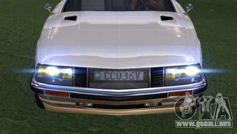 GTA 5 Lampadati Pigalle (IVF) para la visión correcta GTA San Andreas