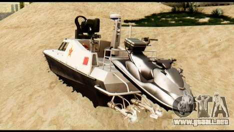 DV-15 Interceptor BF4 para GTA San Andreas left