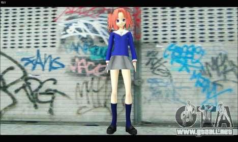 Kobeni Yonomori (Mikakunin de Shinkoukei) para GTA San Andreas segunda pantalla