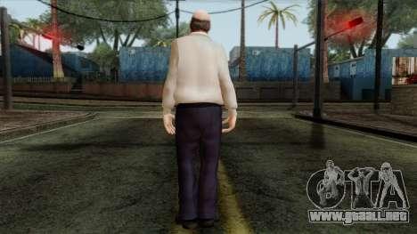 GTA 4 Skin 83 para GTA San Andreas segunda pantalla