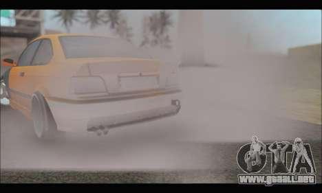 BMW e36 Drift para visión interna GTA San Andreas