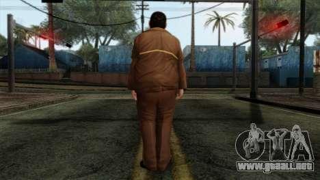GTA 4 Skin 58 para GTA San Andreas segunda pantalla