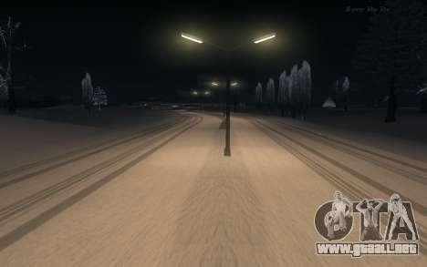 Snow Mod para GTA San Andreas