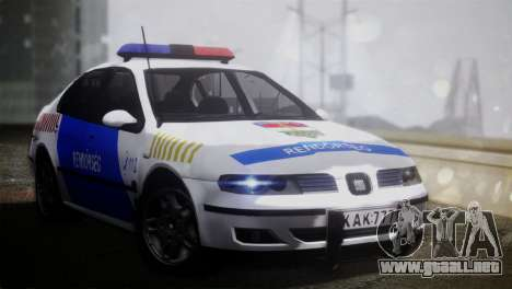 Seat Toledo 1999 Police para GTA San Andreas