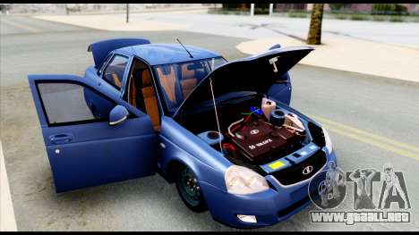 Lada Priora 2 para la visión correcta GTA San Andreas