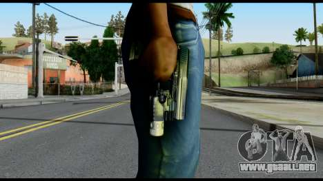 USP from Metal Gear Solid para GTA San Andreas tercera pantalla