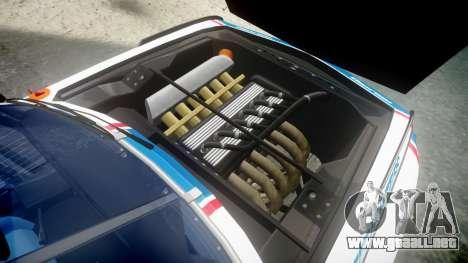 BMW 3.0 CSL Group4 [93] para GTA 4 vista hacia atrás