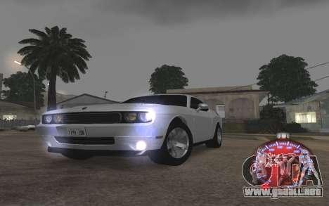 Navidad velocímetro 2015 para GTA San Andreas sucesivamente de pantalla