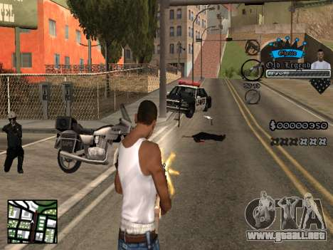 C-HUD Old Legend para GTA San Andreas