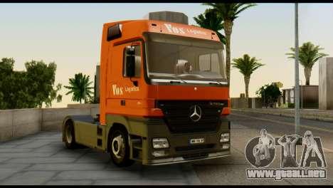 Mercedes-Benz Actros PJ1 para la visión correcta GTA San Andreas