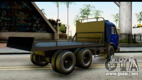 KamAZ 65115 Remolque DPS para GTA San Andreas