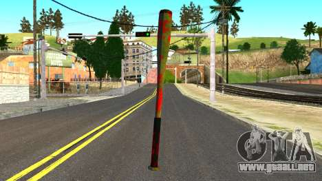 Baseball Bat with Blood para GTA San Andreas
