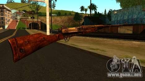 La Válvula (Metro: Last Light) para GTA San Andreas segunda pantalla