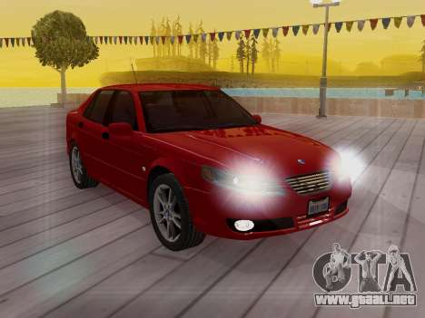 Saab 95 para GTA San Andreas interior