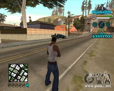 C-HUD for Aztecas para GTA San Andreas