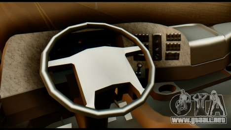 Mercedes-Benz Actros PJ2 para la visión correcta GTA San Andreas