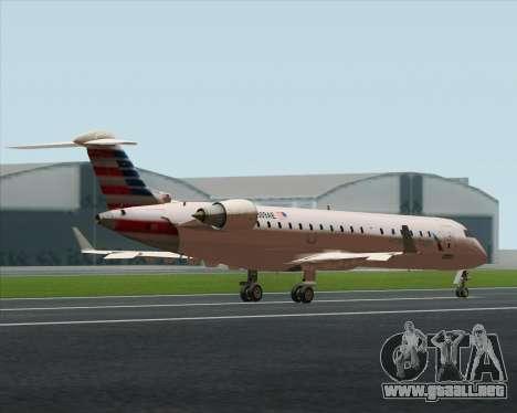 Bombardier CRJ700 American Eagle Airlines para visión interna GTA San Andreas
