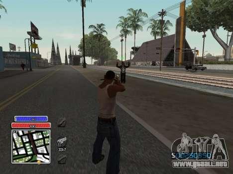 C-HUD Unique v4.1 para GTA San Andreas segunda pantalla