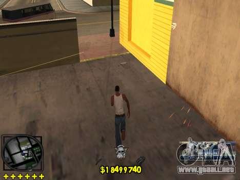 C-HUD Ghetto Life para GTA San Andreas quinta pantalla