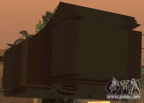 5000 rublos para GTA San Andreas sucesivamente de pantalla
