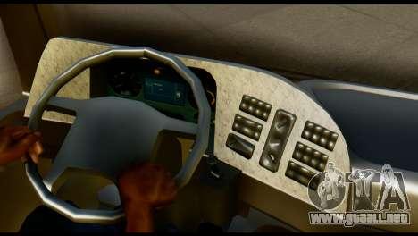 Mercedes-Benz Actros PJ1 para GTA San Andreas vista posterior izquierda