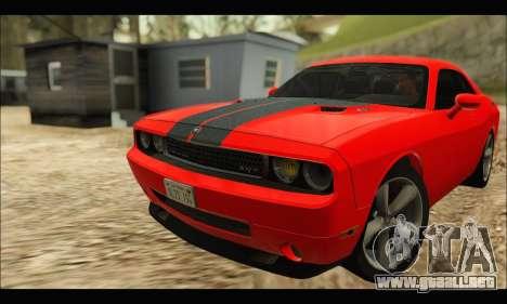 Dodge Challenger SRT-8 2010 v2.0 para GTA San Andreas