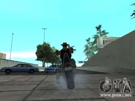 Angel GTA 4 TLaD para GTA San Andreas vista posterior izquierda