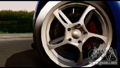 GTA 5 Dewbauchee Rapid GT Coupe [HQLM] para GTA San Andreas vista posterior izquierda