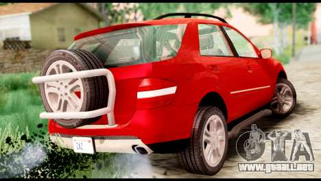 Mercedes-Benz ML500 v.2.0 Off-Road Edition para GTA San Andreas left