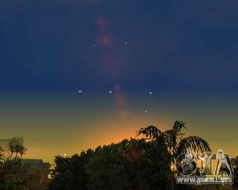 Realista cielo (Cielo Mod) para GTA San Andreas