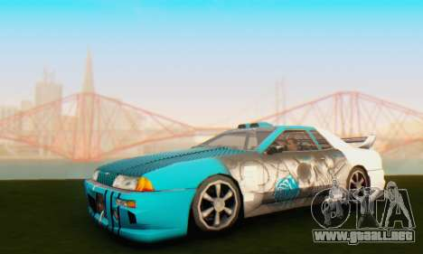 Elegy Skin Paintjob Skull para GTA San Andreas left