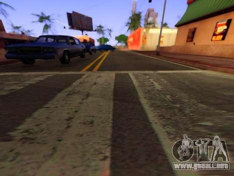 Mejora de la textura de carreteras para GTA San Andreas tercera pantalla
