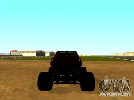 SuperMotoXL Zen MaXXimus CD 17.1 XL-HT para GTA San Andreas vista posterior izquierda