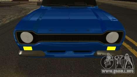 Ford Escort Mark 1 1970 para la visión correcta GTA San Andreas