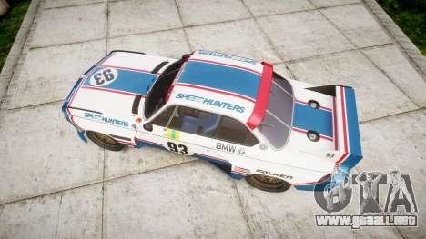BMW 3.0 CSL Group4 [93] para GTA 4 visión correcta