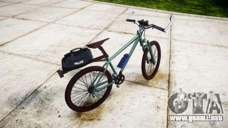 La policía de la bicicleta de montaña [ELS] para GTA 4 left