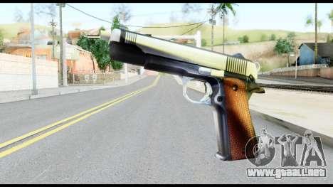 Colt 1911A1 from Metal Gear Solid para GTA San Andreas