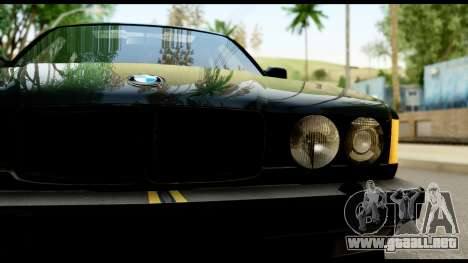 BMW E32 para la visión correcta GTA San Andreas