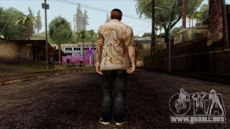GTA 4 Skin 65 para GTA San Andreas segunda pantalla