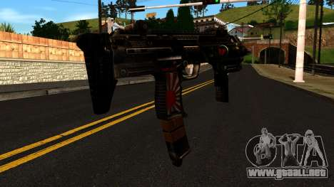 Machine from Shadow Warrior para GTA San Andreas segunda pantalla