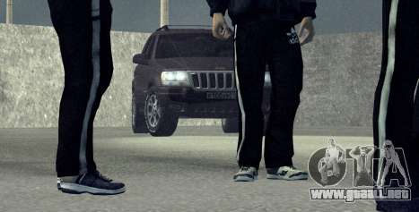 Jeep Grand Cherokee WJ para GTA San Andreas left