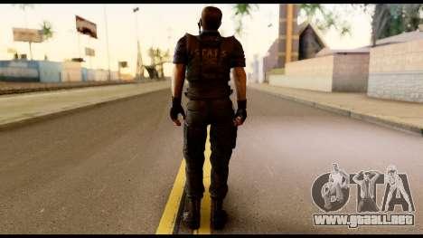 Resident Evil Skin 11 para GTA San Andreas segunda pantalla