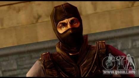 Counter Strike Skin 4 para GTA San Andreas tercera pantalla