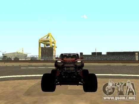SuperMotoXL Zen MaXXimus CD 17.1 XL-HT para vista inferior GTA San Andreas